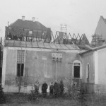 Das Elektrizitätswerk nach dem Brand 1937