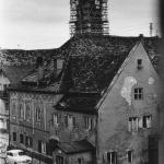 Das Fraunholz-Anwesen mit Stadtwaage 1954