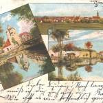 Das Abenstor auf einer Postkarte