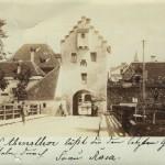 Das Abenstor und die Abensbrücke