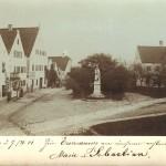 Postkarte vom Aventinusplatz