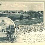 Postkarte mit Abenstor