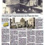 """Artikel """"Alt-Abensberg im Fluss der Zeit"""""""
