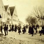 Aventinusplatz um 1910