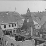 Blick in das ehemalige Obergeschoss des Gasthof Kuchlbauer