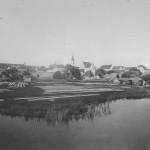 Stadtpanorama mit Abenstor von 1895