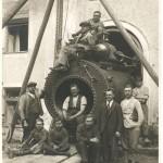 Turbineneinbau 1928