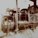 Der Dampfkessel des Elektrizitätswerks