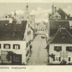 Blick in die Dollingerstraße zum Stadtplatz