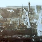 Blick über die Ruine richtung Süden