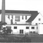 Rückwärtige Ansicht der Molkereigenossenschaft Kelheim-Abensberg