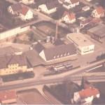 Luftbild der Molkereigenossenschaft Kelheim-Abensberg