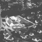 Luftbild der Molkerei 1970
