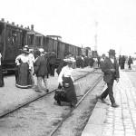Kurz vor der Abfahrt nach Regensburg 1880