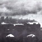 Personenzug auf der Aunkofener Brücke 1935