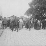 Zugabfahrt in Abensberg