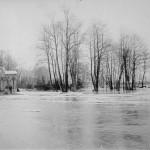 Hochwasser am Elektrizitätswerk