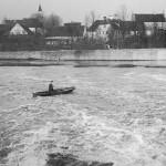 Hochwasser an der Kuhweide